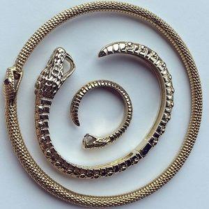 NEW VERAMEAT Baby Snake cuff/ bracelet